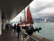 DUK LING aboarding place in Tsim Sha Tsui 29-03-2019