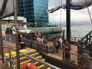 From Hung Hom Public Pier to see AQUNLUNA II