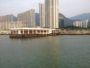 Tung Chung New Development Ferry Pier look