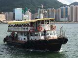 珊瑚海船務三家村至東龍島航線