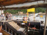 Sha Lo Wan Pier passengers wait to aboard