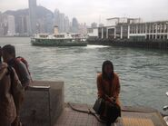Shining Star arrive Tsim Sha Tsui Ferry Pier