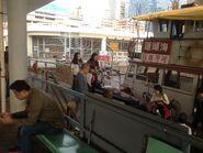 Coral Sea Ferry Service Sai Wan Ho to Kwun Tong in Kwun Tong Public Ferry Pier