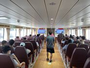 Fortune Ferry Central to Hung Hom compartment