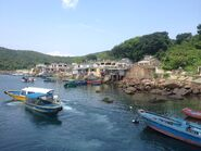 Wong Shek to Tap Mun speed boat in Tap Mun