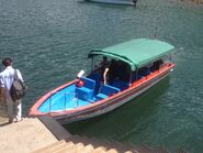 141667 Wong Shek to Tap Mun speed boat