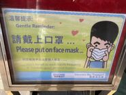 DB Ferry hope passengers wear mask