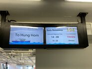 Fortune Ferry Central to Hung Hom display in Central