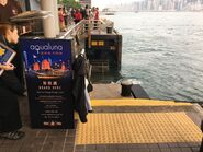 AQUALUNA boarding place in Tsim Sha Tsui 20-03-2019