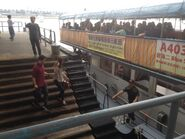 Passenger boarding Kwun Tong to Cruise Terminal in Kwun Tong Public Pier