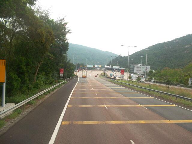 檔案:Tsing Long Highway Of Yuen Long(1).jpg