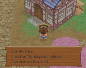 Blue Sky Ranch MM