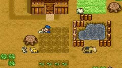 Harvest Moon Snes - Children Ending