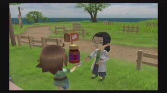 Harvest Moon Tree of Tranquility - Jin - 5 Heart Event