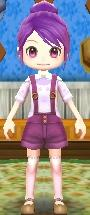 Purple Shortalls
