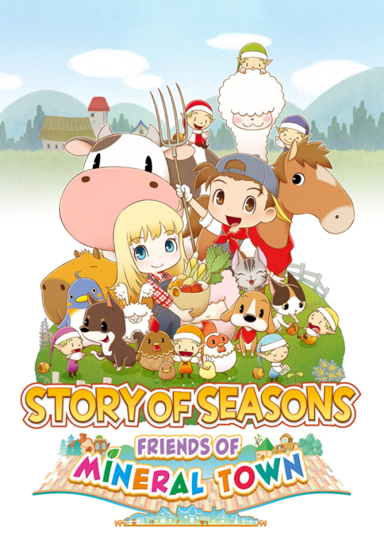 Resultado de imagem para STORY OF SEASONS: Friends of Mineral Town switch