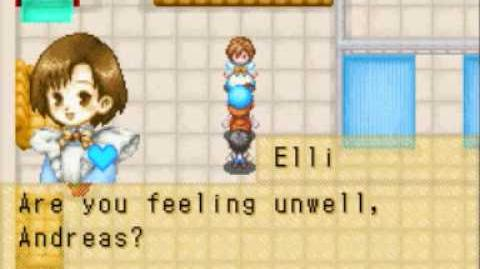 Harvest Moon Friends of Mineral Town - Elli Black Heart Event