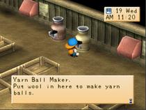 Yarn maker