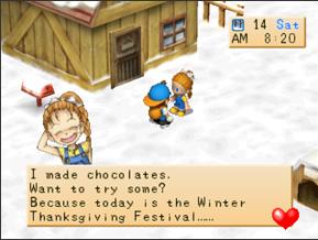 Winter Thanksgiving Festival (BTN) | The Harvest Moon Wiki