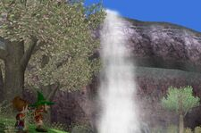 Gustafa Waterfall