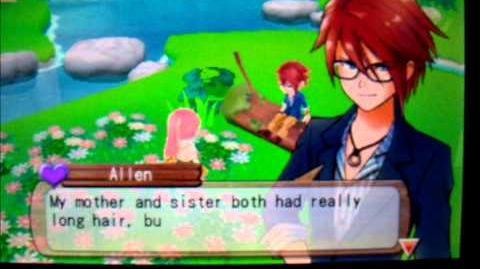 Harvest Moon A New Beginning - Trigger Talk (Allen's Purple Heart Event)