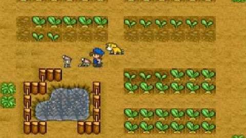 Harvest Moon Snes - Turnips Ending