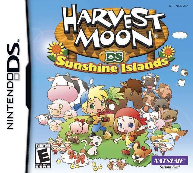 sunshine islands harvest moon