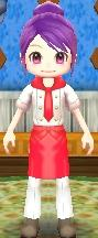 Red Chef's Uniform