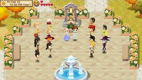 Getting Married with Catherine Harvest Moon Seed of Memories