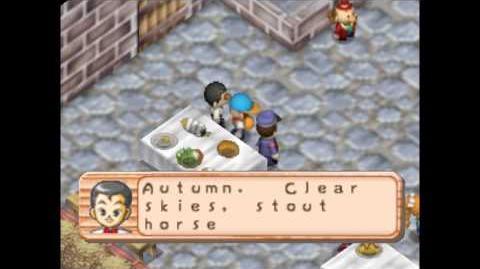 Harvest Moon 64 Harvest Festival King Winner