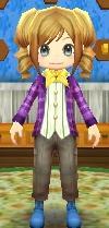 Purple-Checkered Jacket