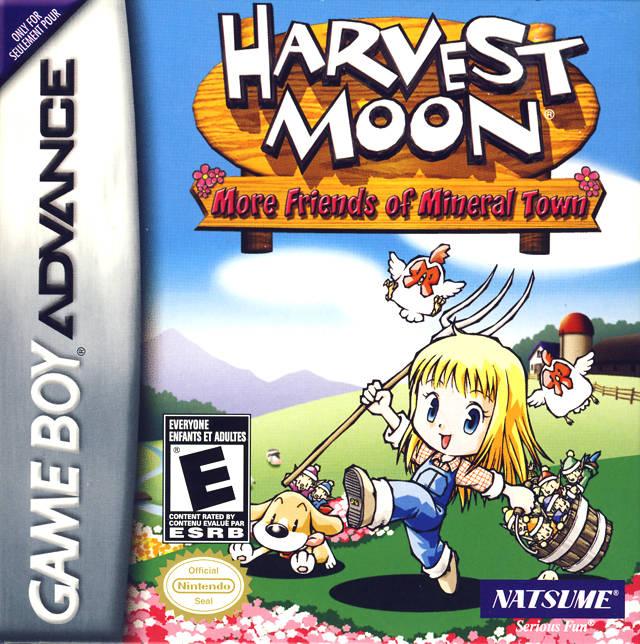 Harvest moon ds mining area