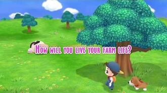Story of Seasons Friends of Mineral Town - Launch Date Announcement Trailer