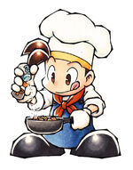 Pete cooking (BTN)