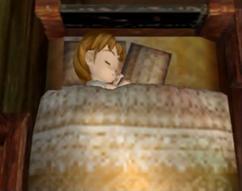 Lumina sleeping