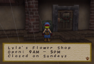 Lyla's Flower Shop Hours