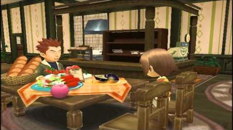 "Harvest Moon (ToT) Owen's Four Heart Event ""Lunch Date"""