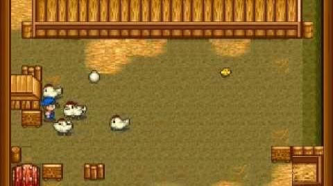 Harvest Moon Snes - Chicken Coop Ending