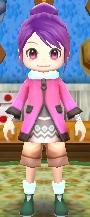 Cosmos Pink Coat