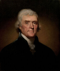 Thomas Jefferson (by Rembrandt Peale, 1800)
