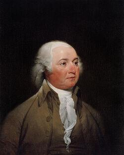 John Adams (by John Trumbull, circa 1792)