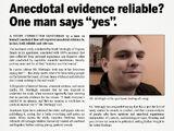 Anekdotisch bewijs