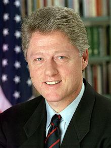 Bill Clinton 3x4