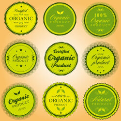 Green-organic-food-label