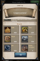 Lvl 4 rewards 3 Kingdoms of Middle Earth.PNG