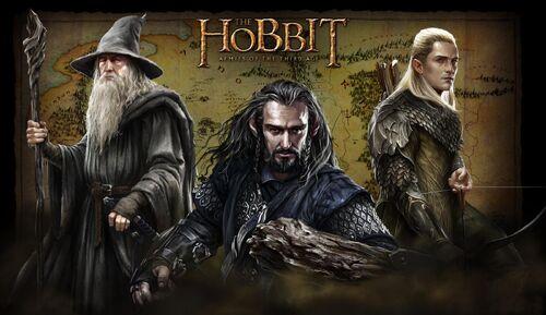 Hobbit Hero Background