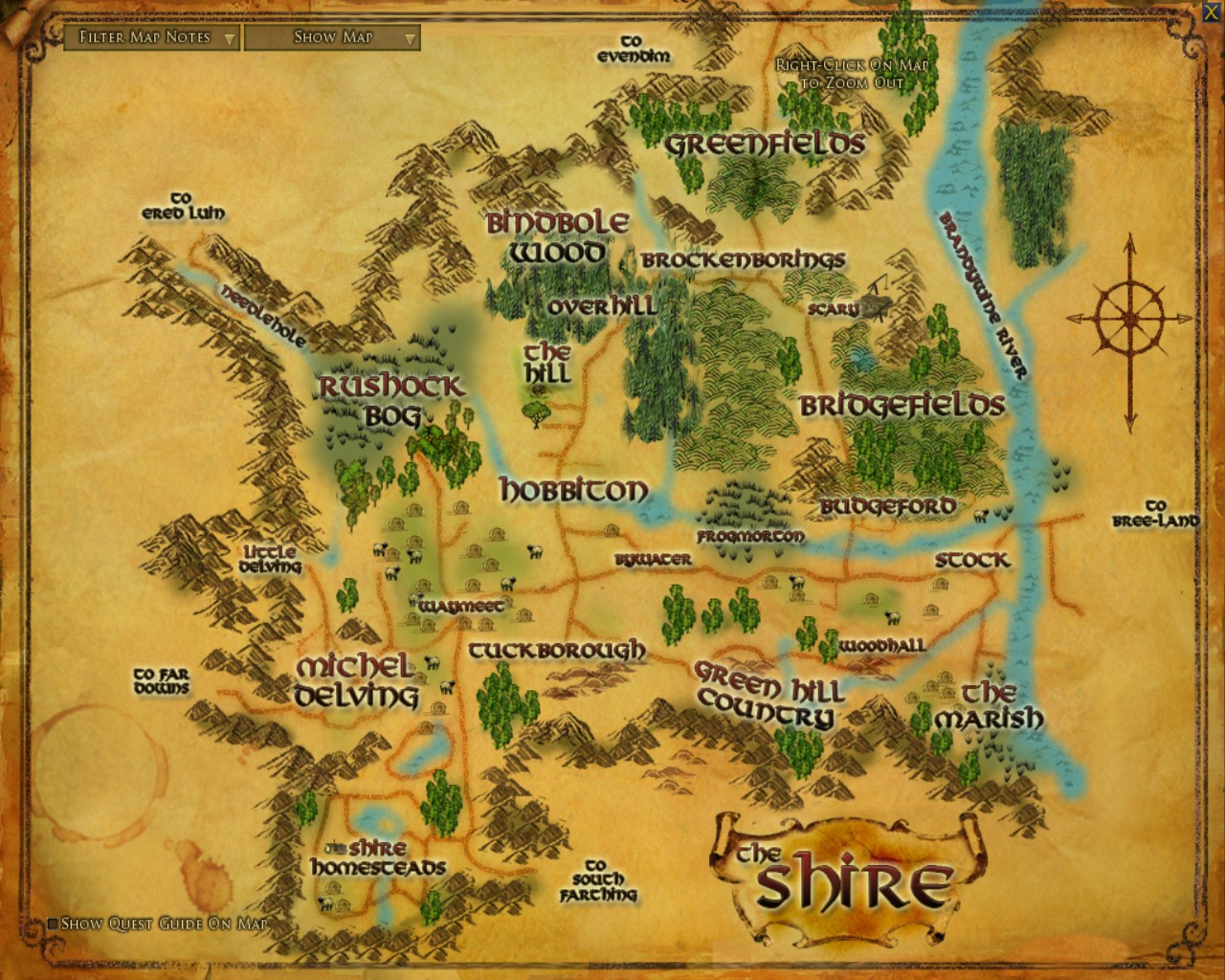 The Shire/Timeline | Middle Earth Films Wiki | FANDOM powered by Wikia