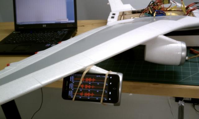 EDF Vibration Setup