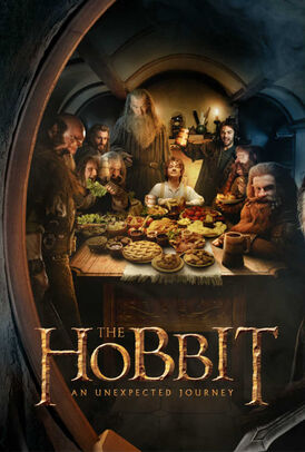 The Hobbit An Unexpected Journey poster Hobbits 749x1109