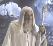 Gandalf the white in Fangorn